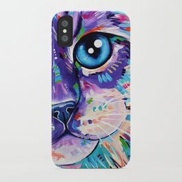 Cats in Colour 1 iPhone Case