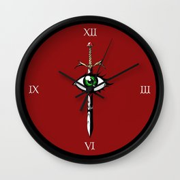 The Reaver (Color) Wall Clock