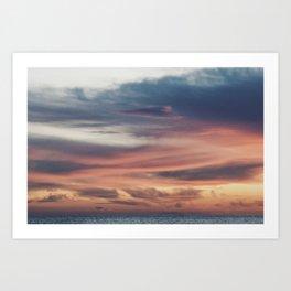 Chromatic palette Art Print