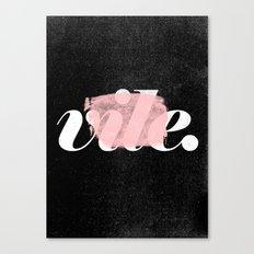 Vile Canvas Print