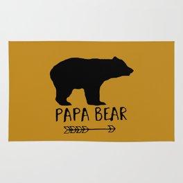 Papa Bear Brown Rug