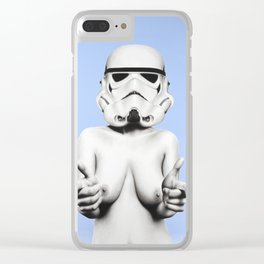 Exposed Day Trooper Clear iPhone Case