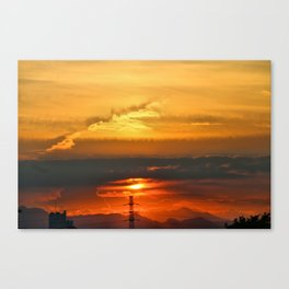 Sunset Horizon Canvas Print