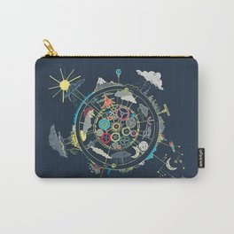Running Like Clockworld Carry-All Pouch