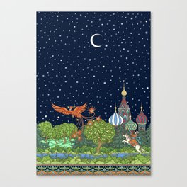 The Firebird Canvas Print