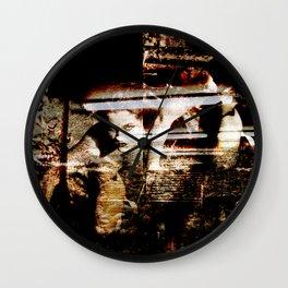 Her Hidden Desire Wall Clock