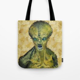 Alien Files Tote Bag