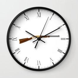 Rifle Wall Clock
