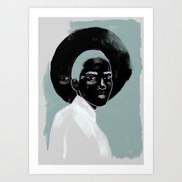 Black Vision Magic Art Print