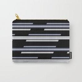 Skewed Stripes Pattern Design Carry-All Pouch