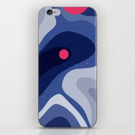 Dot | Happy modern Art iPhone Skin