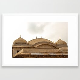 Majestic Domes Framed Art Print