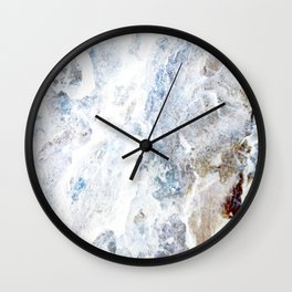 Earth Marble Wall Clock