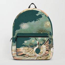 Golden Crane Backpack