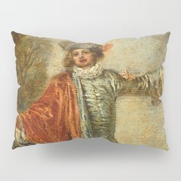 """Antoine Watteau """"L'indifferent (The Casual Lover)"""" Pillow Sham"""