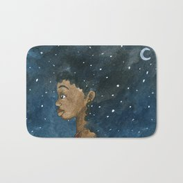 Star Girl Bath Mat