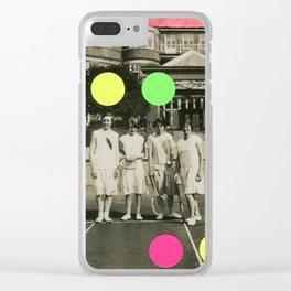 7 Balls Clear iPhone Case