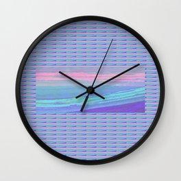 Piha Wave 1 Wall Clock
