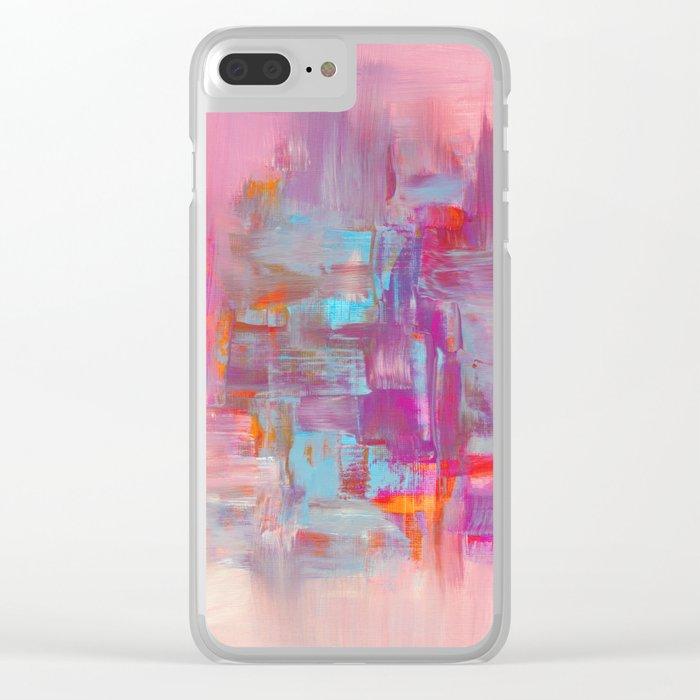 Improvisation 53 Clear iPhone Case