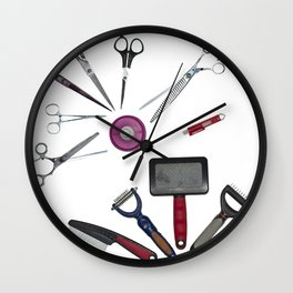 Grooming Wall Clock