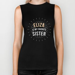 Schuyler Sisters T Design Gift for Eliza, Peggy and Angelica Fans Founding Father Wives Hamilton Biker Tank