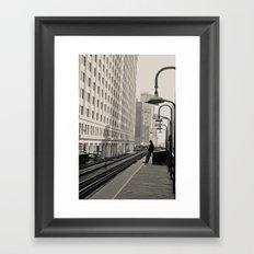 Interim Framed Art Print