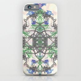 Spiraling Leafs iPhone Case