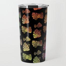 Cascading Color Explosion Travel Mug