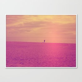 Porto Beach Canvas Print