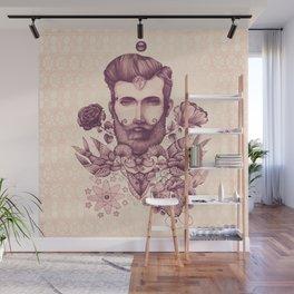 beard & tattoo Wall Mural