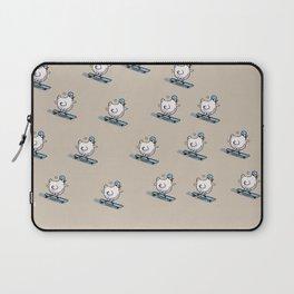Long Board Chick Laptop Sleeve