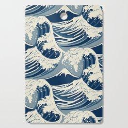 Sea Wave Cutting Board