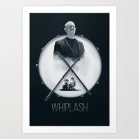 Whiplash  Art Print