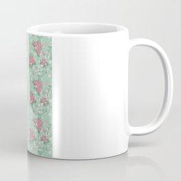 Vintage Roses Pattern Coffee Mug