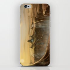 Canion Village Fantasy Landscape iPhone & iPod Skin