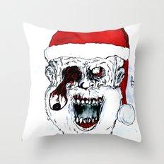 Santa Of The Dead Throw Pillow
