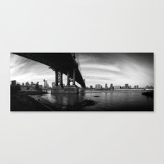 From the Brookly Bridge Park Canvas Print
