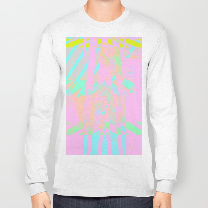 Clouds Mingle with Lines 5 Long Sleeve T-shirt