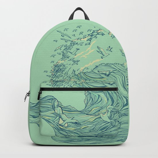 Ocean Breath Backpack