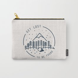 Get lost to be found Carry-All Pouch