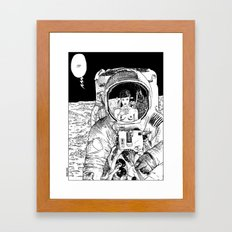 asc 333 - La rencontre rapprochée ( The close encounter) Framed Art Print