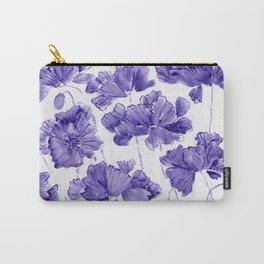 Violet Twilight Carry-All Pouch