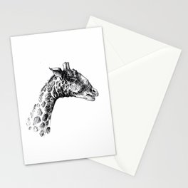 Giraffa minima Stationery Cards
