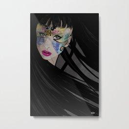 LADY G Metal Print