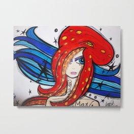Octopus Love Metal Print