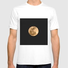 La Luna 3 MEDIUM Mens Fitted Tee White