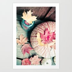 Sweet Autumn Art Print