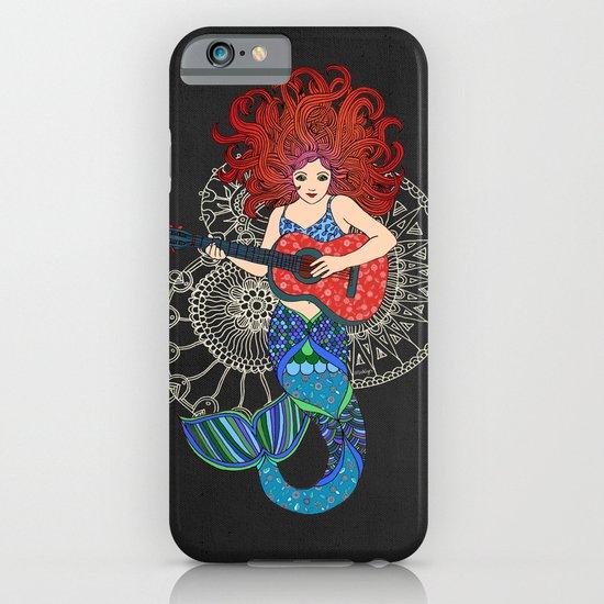 Musical Mermaid iPhone & iPod Case