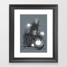 The Star Builder Framed Art Print