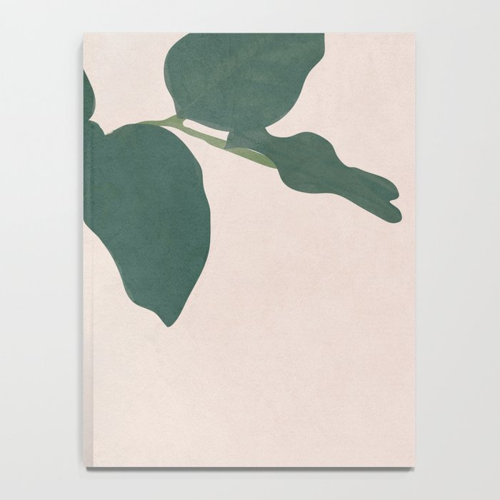 Holding the Branch Notebook
